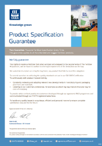 Yara's Product Guarantee